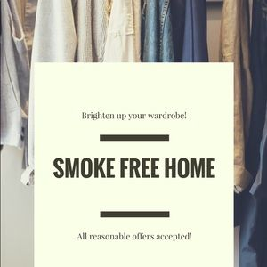 Other - From a smoke free home!